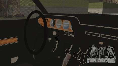 Dodge Challenger RT для GTA San Andreas вид справа