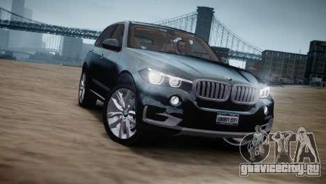 BMW X5 2015 для GTA 4