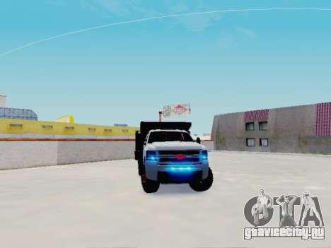 Chevrolet Silverado 3500 HD для GTA San Andreas вид справа