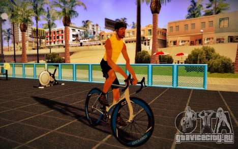GTA V Tri-Cycles Race Bike для GTA San Andreas вид сзади слева