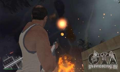 Meteors Mod для GTA San Andreas второй скриншот
