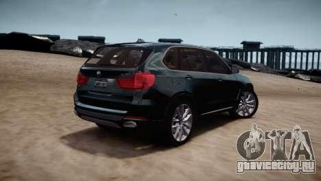 BMW X5 2015 для GTA 4 вид справа