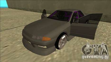 Nissan Skyline R32 Drift Sedan для GTA San Andreas салон