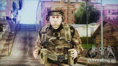 World In Conflict US Marine для GTA San Andreas