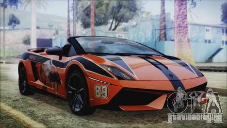 Lamborginhi Gallardo LP-570 Spyder HxH Neferpito для GTA San Andreas