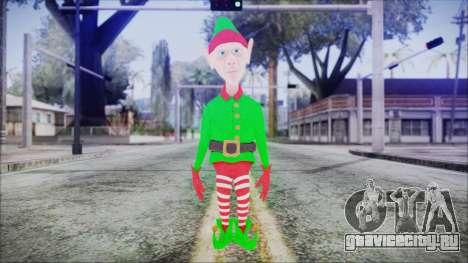 Christmas Elf v2 для GTA San Andreas второй скриншот