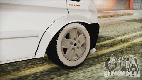 Ford Transit 350L для GTA San Andreas вид сзади слева
