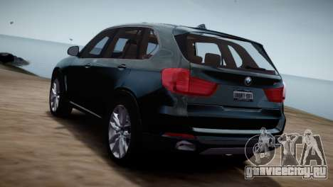 BMW X5 2015 для GTA 4 вид слева