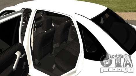 Lada Granlina для GTA San Andreas вид сзади
