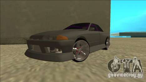 Nissan Skyline R32 Drift Sedan для GTA San Andreas вид изнутри