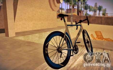GTA V Tri-Cycles Race Bike для GTA San Andreas вид слева