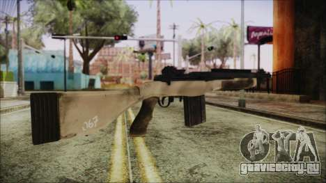 M308 PayDay 2 для GTA San Andreas второй скриншот