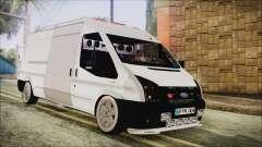 Ford Transit 350L для GTA San Andreas