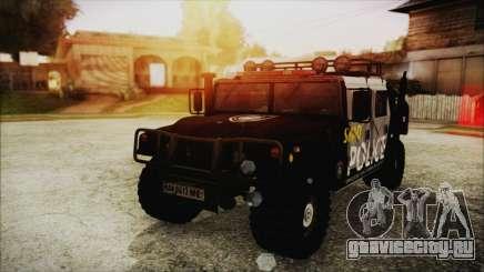 Hummer H1 Police для GTA San Andreas