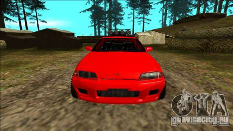 Nissan Skyline R32 Rusty Rebel для GTA San Andreas салон