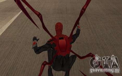Улучшенный Человек-Паук от Robinosuke для GTA San Andreas пятый скриншот