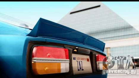 Nissan Fairlady 240Z Rocket Bunny для GTA San Andreas вид сзади