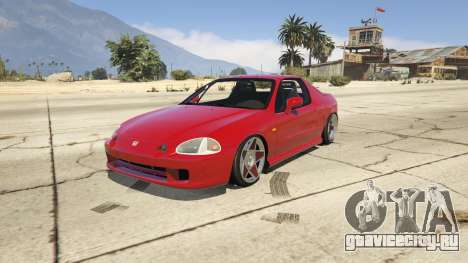 Honda CRX Del Sol для GTA 5