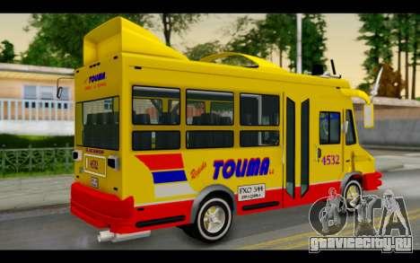 Iveco Turbo Daily Buseton для GTA San Andreas вид слева