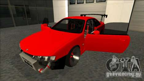 Nissan Silvia S14 Drift для GTA San Andreas вид снизу
