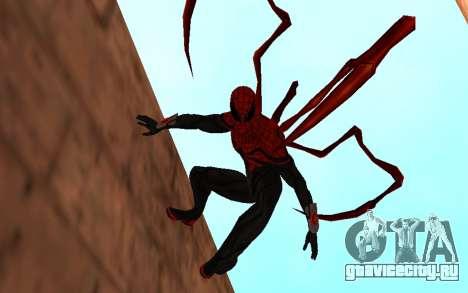Улучшенный Человек-Паук от Robinosuke для GTA San Andreas второй скриншот
