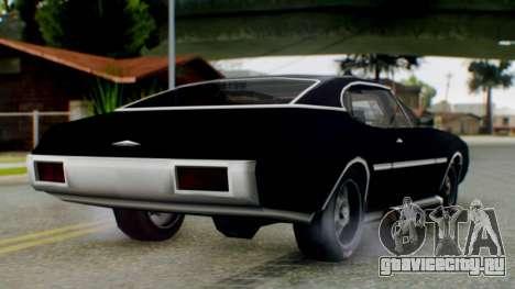 Muscle-Clover Final для GTA San Andreas вид слева