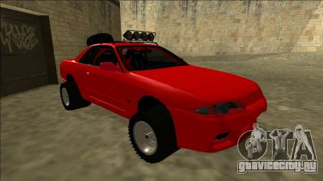 Nissan Skyline R32 Rusty Rebel для GTA San Andreas вид слева