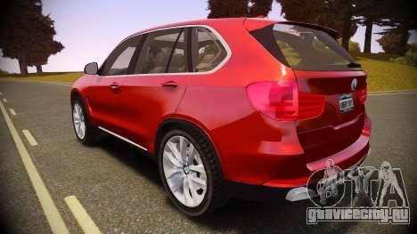 BMW X5 2014 для GTA 4 вид слева