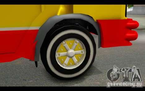 Iveco Turbo Daily Buseton для GTA San Andreas вид сзади слева