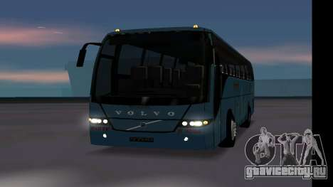 Volvo 9700 JR Indian MSRTC Shivneri для GTA San Andreas вид справа