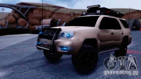 Toyota 4runner 2009 Full Off-Road для GTA San Andreas