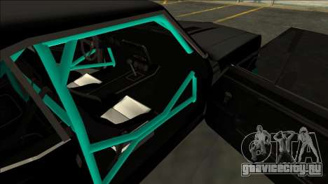Chevrolet Camaro SS Drift для GTA San Andreas вид сбоку