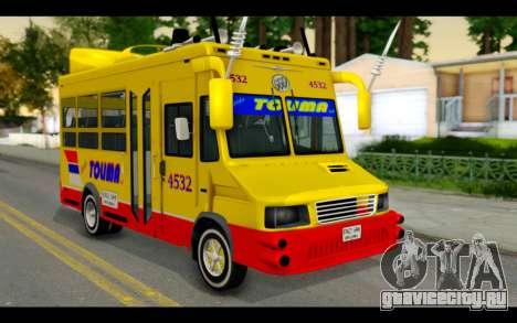 Iveco Turbo Daily Buseton для GTA San Andreas
