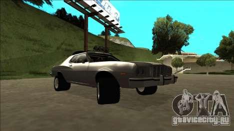 Ford Gran Torino Rusty Rebel для GTA San Andreas вид сбоку