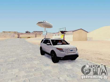 Ford Explorer 2013 Semi-Tuning для GTA San Andreas
