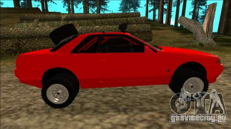 Nissan Skyline R32 Rusty Rebel для GTA San Andreas колёса