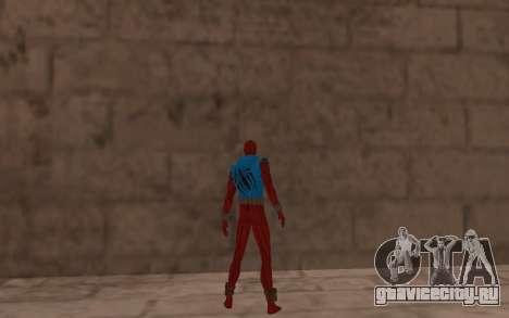 Алый Паук Бен Рейли от Robinosuke для GTA San Andreas четвёртый скриншот