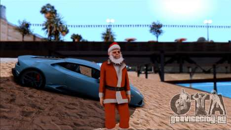 HD текстуры пляжа для GTA San Andreas третий скриншот