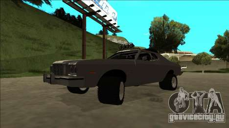 Ford Gran Torino Rusty Rebel для GTA San Andreas вид сверху