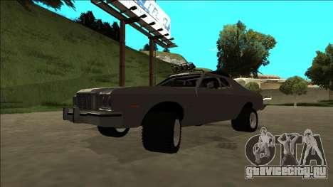 Ford Gran Torino Rusty Rebel для GTA San Andreas вид сверху