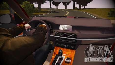 BMW X5 2014 для GTA 4 вид сверху