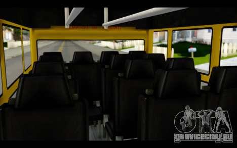 Iveco Turbo Daily Buseton для GTA San Andreas вид сзади