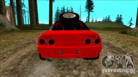Nissan Skyline R32 Rusty Rebel для GTA San Andreas