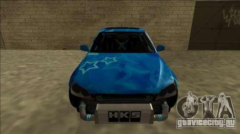 Lexus IS300 Drift Blue Star для GTA San Andreas