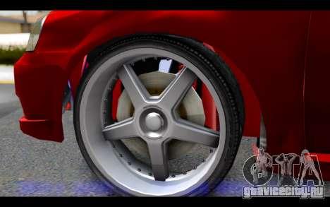 Chevrolet Optra 2007 для GTA San Andreas вид сзади слева