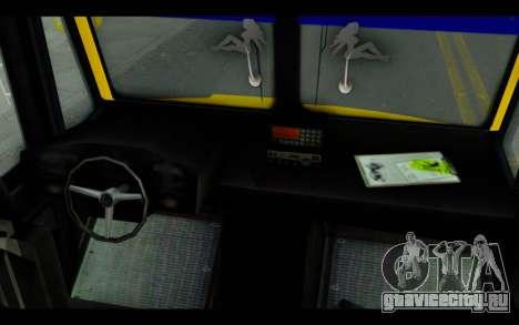 Iveco Turbo Daily Buseton для GTA San Andreas вид справа