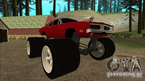 Dodge Charger 1969 Monster Edition для GTA San Andreas