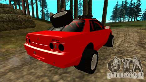 Nissan Skyline R32 Rusty Rebel для GTA San Andreas