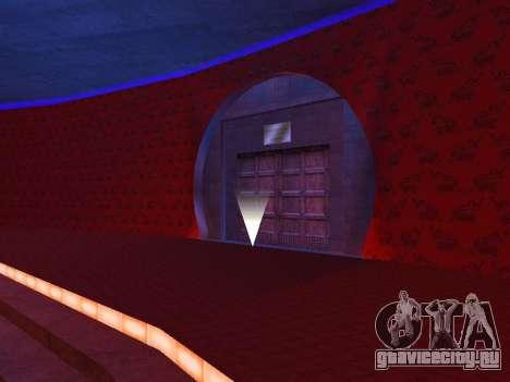 Скрытые интерьеры казино Четыре Дракона для GTA San Andreas
