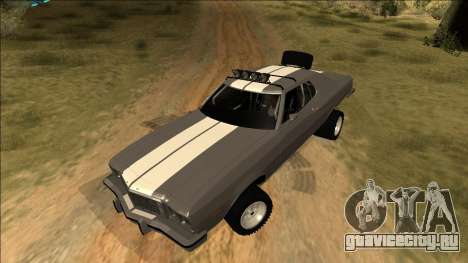 Ford Gran Torino Rusty Rebel для GTA San Andreas салон